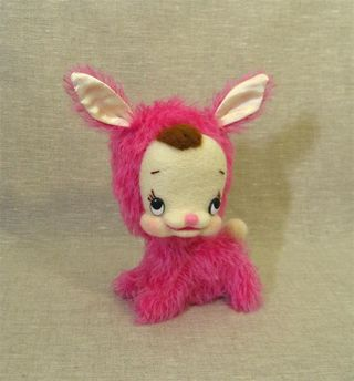 Pink moh face bun e (Large)