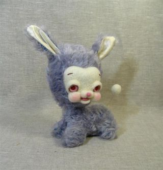 Blue and Fuschia Bunnies 015 (Large)